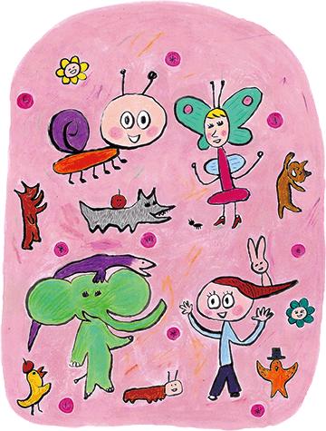 生き物のイラスト